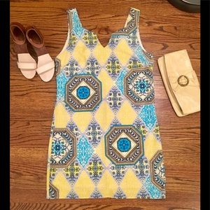 20% off bundles! Yellow & Blue Geometric Shift